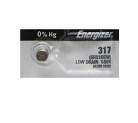 Energizer 317 SR516SW Button Cell Battery 1pc (Each)