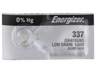 Energizer 337 SR416SW SR416 SILVER OXIDE watch battery 1pc (Each)