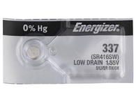 Energizer 337 Silver Oxide Watch Battery 1 pack