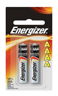 Energizer Max AAAA Size Batteries, 2-Count (Single Pack)
