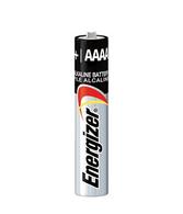 Energizer AAAA EN96 LR61 1.5v Miniature Alkaline Batteries - 20 Pack