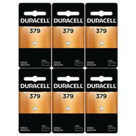 Button Cell Type 379 Battery Duracell 6 Pcs