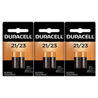 Duracell 6 (3x2) Duralock MN21B2PK Watch/Electronic/Keyless Entry Batteries, 12V Alkaline