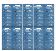 Loopacell 379 (SR521SW) 1.55V Silver Oxide Watch Battery (50 Batteries)