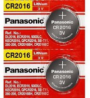 2 x CR2016 ECR2016 CR 2016 3v Lithium battery By Panasonic