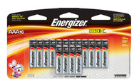 Energizer AAA Max Alkaline E92 Batteries Made in USA  - 16 count
