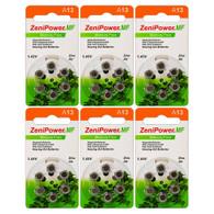 ZeniPower Hearing Aid Batteries Size: 13 (36 Batteries)