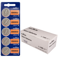 500 Sony CR2032 220mAh 3V Lithium (LiMnO2) Coin Cell Watch Battery Replaced By Murata