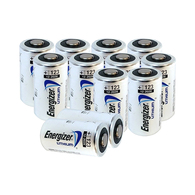 Energizer 123 Lithium Photo Batteries, 12-Pack