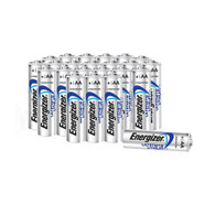 Energizer Ultimate Lithium Batteries AA Pack Of 24 L91