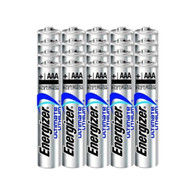 Energizer Ultimate Lithium AAA Size Batteries - 20 Pack