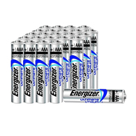 24 Pack Energizer Ultimate Lithium AAA Batteries