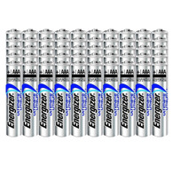 50 Energizer Ultimate AAA L92 Lithium Batteries