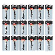18 x Energizer Max 9V 9 Volt Alkaline Batteries