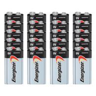 20 Energizer Max 9V 9 Volt Alkaline Batteries