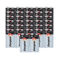Energizer MAX Alkaline 9-Volt Battery - 32 Bulk