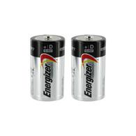 Energizer Max D Alkaline Batteries - 2 pack