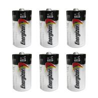 6 Pack Energizer E93BP-2 C Cell Alkaline Batteries