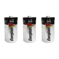 Energizer MAX Alkaline Batteries, C - 3 batteries