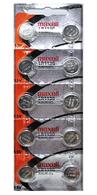 Maxell LR1130 AG10 GP189 189 Alkaline batteries X 10