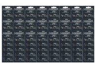 120Pcs Loopacell 392 384(SR41SW) Silver Oxide Watch Batteries