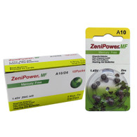 Zenipower A10 Mercury Free Hearing Aid Batteries 60  Batteries