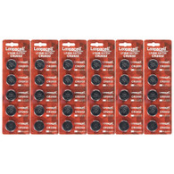 30PCS/set Loopacell 3V CR2032 DL2032 ECR2032 5004LC Button Cell Battery New