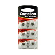 Camelion Alkaline AG1 1.5V Button Cell (Pack of 6)