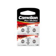 4pcs Camelion AG2 / 396 / LR726 1.5V Button Cell Battery