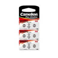 Camelion AG2-BP10, Alkaline Button Battery, 1.5V 6pcs Per Pack
