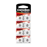 Camelion AG2 / 396 / LR726 1.5V Button Cell Battery 8pk