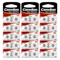 30 x AG2 Camelion (396, 397 & LR726) Button Batteries