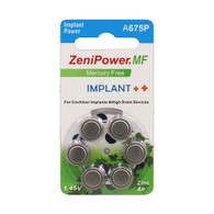 6 ZeniPower Hearing Aid Batteries Size: 675 (6 pk.)
