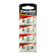 Camelion Premium Alkaline Ag3 / Lr41 Batteries 8 Pack