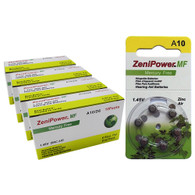 New Zenipower A10 Batteries Pack 240 batteries Super Fresh Expire 2022