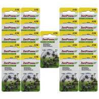ZeniPower hearing aid batteries size 10 Value pack 126 batteries Fresh Expire 2022