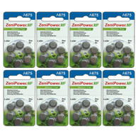 A675 Zinc Air Hearing Aid Batteries - 48 Wheels - 6 Batteries Per Wheel
