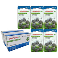 150 Pack ZeniPower Size A675 MF Batteries Zinc Air 1.4V