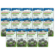 84-pack ZeniPower Batteries Size A675 Zero Mercury Free