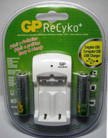 GP Recyko+ 2 Hours USB Battery Charger For AA/AAA