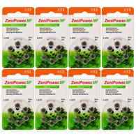 Zenipower ZA13 Hearing Aid Battery A13 PR48 P13 1.4V Zinc Air Batteries Count (48Pcs-ZA13)