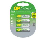 AAA Rechargeable Batteries x 4 batteries
