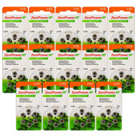 Zenipower A13 hearing aid batteries (84 pack)