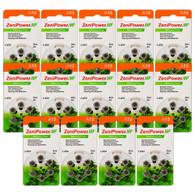 Zenipower A13 hearing aid batteries (84 pack)