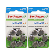 ZeniPower Implant Power A675P (12 batteries count)