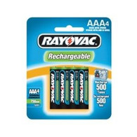 Rayovac NiMH Rechargeable AAA 4-Pack