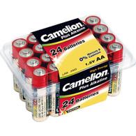 Camelion AA LR6 Plus Alkaline Batteries 24 Pack