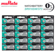 20 Pcs New Made in Japan Murata 373 SR916SW Coin Cell Watch Battery 1.55V