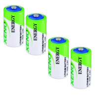 4 Pk XENO Equivalent to the LS14250 1/2 AA 3.6V LITHIUM BATTERY
