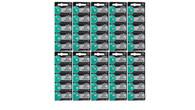 50 x FRESH MuRata 377 376 WATCH BATTERY SR626SW SR626W Silver Oxide Battery